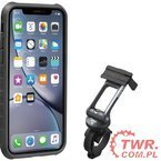 Topeak Pokrowiec RIDECASE for iPHONE XR Black/Grey